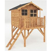 Mercia 7 X 5Ft Poppy Tower Playhouse