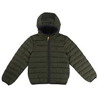Timberland Boys Packable Padded Jacket - Khaki, Khaki, Size Age: 6 Years