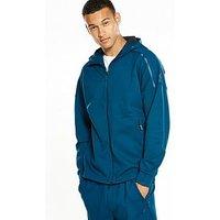 adidas ZNE Duo Hoodie, Blue, Size L, Men