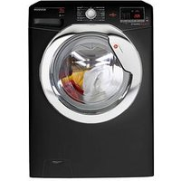 Hoover Dynamic Next Dxoa610Hcb 10Kg Load, 1600 Spin Washing Machine With One Touch - Black/Chrome