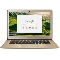 Acer Chromebook 14 Intel Celeron, 2Gb Ram, 32Gb Storage, 14 Inch Chromebook - Gold