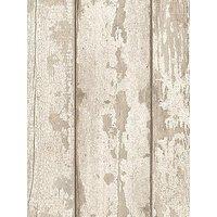 Arthouse Whitewashed Wood Wallpaper