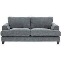 Product photograph showing Ideal Home Camden 3 Seater Fabric Sofa