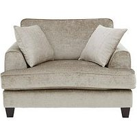 Luxe Collection - Opal Fabric Cuddle Chair