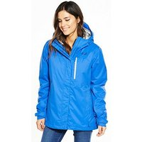 Jack Wolfskin Northern Lake Jacket - Blue, Blue, Size S, Women