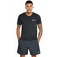 Nike Dry Miler T-Shirt, Black, Size Xl, Men