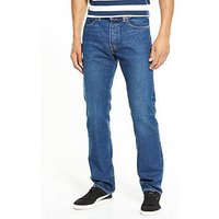 Levi's 501 Original Fit Jeans, Subway Station, Size 31, Inside Leg Long, Men