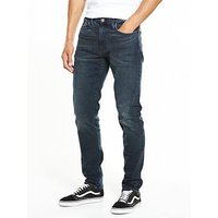 Levi's 512 Slim Tapered Fit Jeans, Steinway, Size 38, Length Long, Men