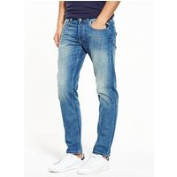 Replay Grover Slim Fit Jeans, Light Wash, Size 38, Length Long, Men