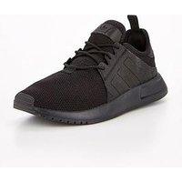 adidas Originals X_PLR Junior Trainer, Black/Black, Size 5.5