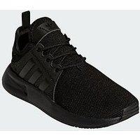 adidas Originals X_PLR Childrens Trainer, Black/Black, Size 13