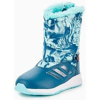 adidas Frozen Rapida Snow Infant Boot, Blue, Size 5