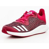 adidas Forta Run Children Trainer, Pink, Size 10