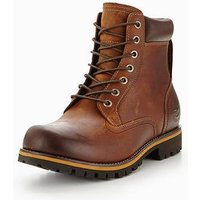 Timberland Rugged 6 In Plain Toe Wp Boot, Copper Roughcut, Size 7, Men