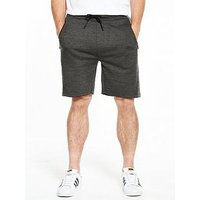 V by Very Mens Active Short, Charcoal, Size L, Men