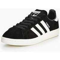 adidas Originals Campus - Black , Black, Size 6, Women