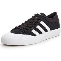 adidas Originals Matchcourt - Black , Black/White, Size 8, Men