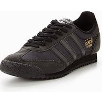 adidas Originals Dragon OG, Black/Black, Size 6, Men