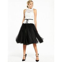 V By Very Lace High Neck Tutu Dress