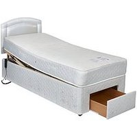 Product photograph showing Mibed Fraiser Adjustable Bed With 800 Pocket Memory Mattress