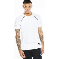 Puma Evo Core T-Shirt, White, Size L, Men