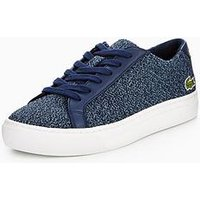 Lacoste LACOSE L.12.12 LACE SHOE, Navy, Size 5 Older