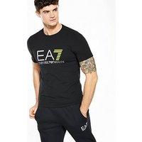 Emporio Armani EA7 EA7 Visibility T-Shirt, Black, Size M, Men