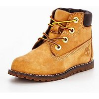 Timberland Pokey Pine 6 Inch Boots - Wheat, Wheat, Size 7 Younger