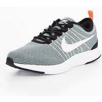 Nike Dualtone Racer Junior Trainer, Black, Size 3