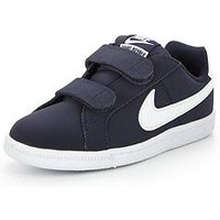 Nike Court Royale Childrens Trainer, Navy/White, Size 1