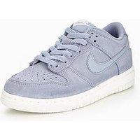 Nike Nike Dunk Low '17 SE Junior Trainer, Grey, Size 4