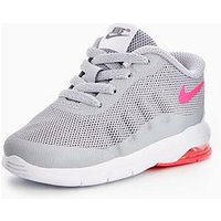 Nike Air Max Invigor Infant Trainer, Grey/Pink, Size 5
