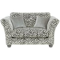 Luxe Collection - Velvetine Fabric Accent Cuddle Chair