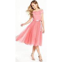 V By Very Bridesmaids Bardot Tutu Prom Dress