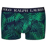 Polo Ralph Lauren Palm Print Trunk, Green, Size 2Xl, Men