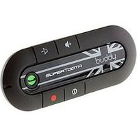 Supertooth Buddy Hands-Free Bluetooth Visor Car-Kit - Union Jack Design