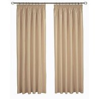 Made To Measure Faux Silk Pencil Pleat Up To 400Cm W X Up To 183Cm D