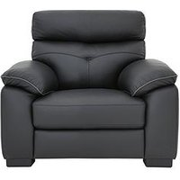 Violino Editor Luxury Leather/Faux Leather Armchair