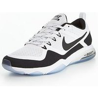 Nike Zoom Fitness - White , White/Black, Size 4, Women