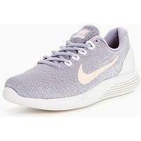 Nike LunarGlide 9 - Purple/Pink , Purple/Pink, Size 4, Women