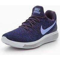 Nike LunarEpic Low Flyknit 2 - Purple , Purple, Size 8, Women