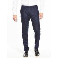 Tommy Hilfiger Suit Trouser, Navy, Size 36, Inside Leg Regular, Men