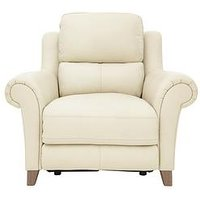 Siesta Premium Leather Power Recliner Armchair