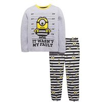 Despicable Me Minions Boys Pyjamas, Multi, Size Age: 7-8 Years