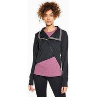 Asics Fuzex Adaptable Jacket - Black , Black, Size S, Women