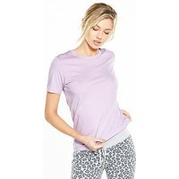 Converse Essentials Tee - Lilac, Lilac, Size Xs, Women