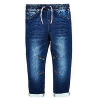 Mini V by Very Boys Jogger Jean With Stretch, Denim, Size Age: 12-18 Months