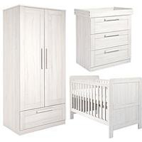Product photograph showing Mamas Papas Atlas Cot Bed Dresser Amp Wardrobe
