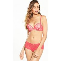 Gossard Superboost Lace Short - Coral, Coral, Size Xl, Women