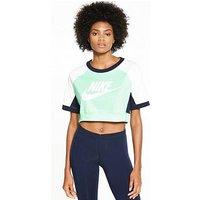 Nike Sportswear Colour Block Top, Multi, Size Xl, Women